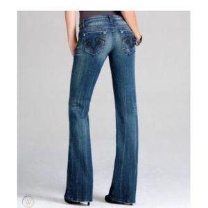 3/$10 Express Rerock Bootcut Jeans